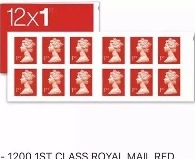 12 x Royal Mail 1st First Class Stamps - Free Postage - CHEAP & Genuine.