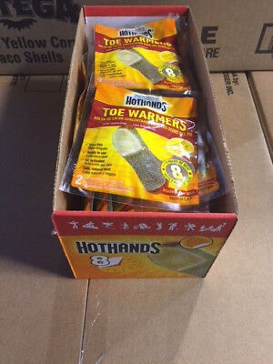 (10 pack) Hot Hands Toe Warmers Long Heat Up to 8 Hours (NEW)