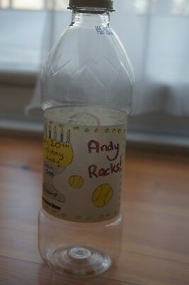 RARE Official Limited Edition Highland Spring Water Bottle Andy Murray