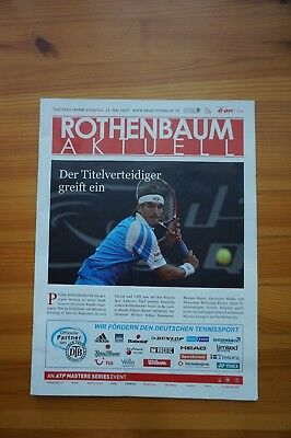Official Andy Murray Signed ATP Masters Series Hamburg Programme