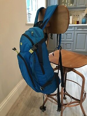 Camelbak Camel Pack Mule Royal Blue Yellow With 3 Litre Bladder