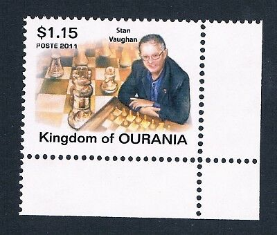 Micronation Kingdom Of Ourania - 1 Unofficial Mnh Stamp