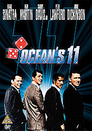 Ocean's Eleven (DVD, 2002) *New & Factory Sealed*