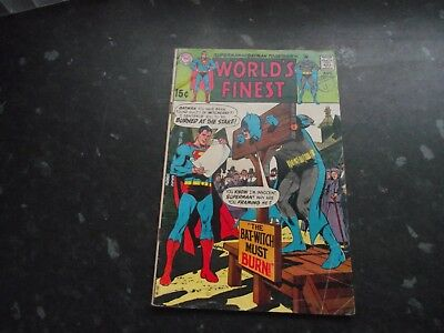 Worlds Finest comics. No 186. From august 1969