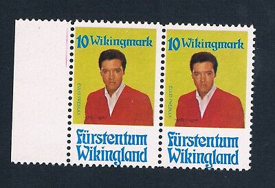 Micronation - Principality Of Wikingland - 2 Mnh Unofficial Stamps