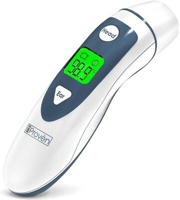 iProvèn Ear Thermometer with Forehead Function - FDA Approved for Baby