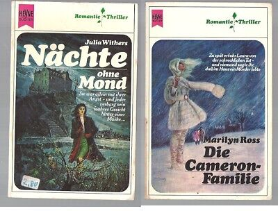 Romantic Thriller Heyne Nr.1820 J. Withers + Nr.1854 M. Ross
