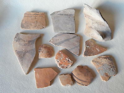 Neolithic Pottery Shards #17. Trypillian culture.
