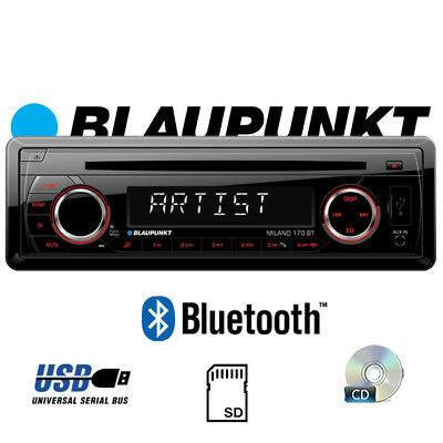 BLAUPUNKT MILANO 170 BT Radio 4x40 Watt- Bluetooth CD | MP3 | SD | USB Autoradio
