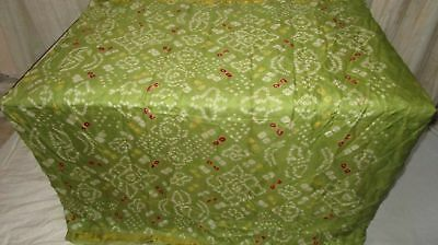 Henna Pure Silk 4 yd Vintage Antique Sari Saree happy customers Low Cost #9EDVL