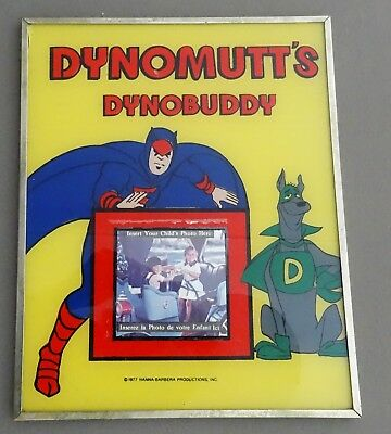 vintage 1970's Kings Island Hanna-Barbera RARE Dynomutt Picture Frame 8x10