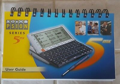 MANUAL ONLY for the Psion 5mx - Very Good Condition