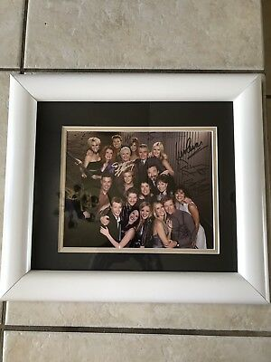 Bold And The Beautiful Cast Autographed Framed Collectible