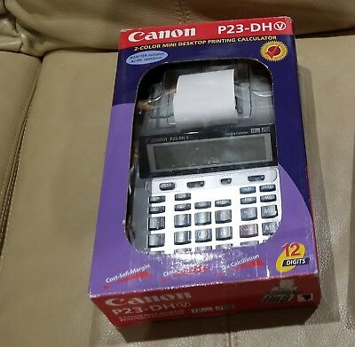 Canon P 23 DH II P-23DHII P23DHii Calculator Ink Roller