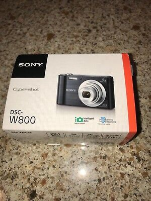 Sony Cyber-shot DSC-W800 20.1MP Digital Camera -Black