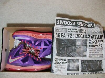 7bb5caf93346d NIKE LEBRON X AS Area 72 Size 11 All Star Gumbo Leauge MVP 583108 ...