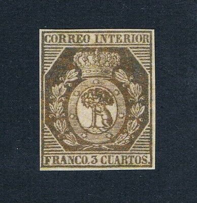 Spain - 1853 - Madrid Local Post - 1 Mnh Stamp