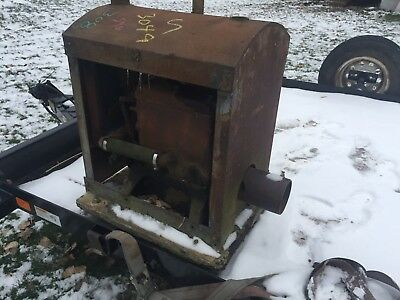 LeRoi 2 Cylinder Antique, Gas Engine NOT Hit and Miss