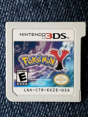 Pokemon Y (Nintendo 3DS, 2013) game cartridge only