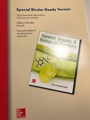 General, Organic & Biological Chemistry, 3rd edition, Binder-ready version