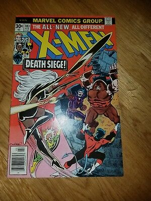 Uncanny X-Men # 103 Marvel Comics - Bronze Age Claremont Byrne