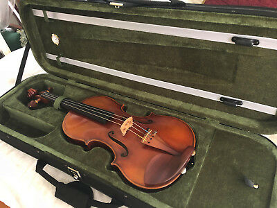 Ming Jiang Zhu 909 Violin with Oblong Case. See Video!
