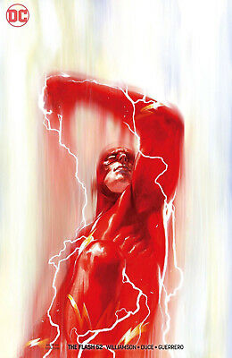 THE FLASH #52 Cover B Dell'Otto Variant DC Universe 1st Print NM New Unread
