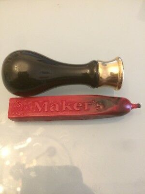 Maker's Mark Wax Stamp