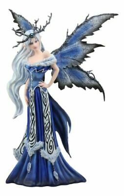 """18.75"""" Height Winter Fairy Queen by Amy Brown Home Decor Figurine"""