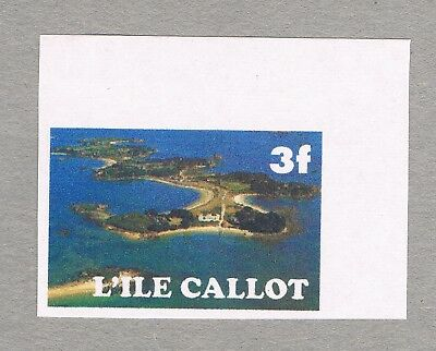France - Unofficial Local Issue Callot Island - 1 Mnh Stamp