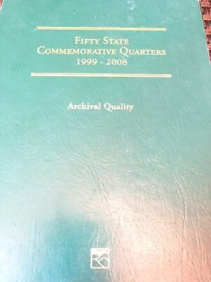 Fifty State Commemorative Quarters Series Complete Set 1999 - 2008 by Littleton