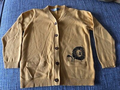John Lewis Yellow Lion Cardigan - 18-24 Months - Great Condition