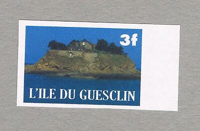 France - Unofficial Local Issue Du  Guesclin  Island - 1 Mnh Stamp