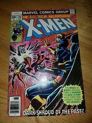 Uncanny X-Men 106 Marvel Comic 1977 VF+