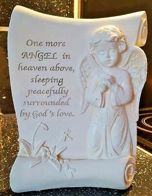 Latex Moulds for making this angel memorial