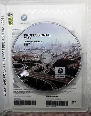 Bmw Professional 2019 Road Map Europa Navigation Navi DVD 2 MAP 2 + Blitzer