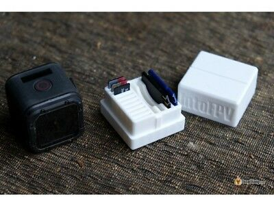 SD Card Holder/Box available in Blue, Red, White, Black or Light Grey