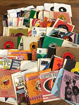 Lot of 127 45rpm records 1970's era FULL LIST Bread, Carpenters, Skynyrd, Stones