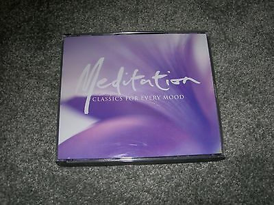 MEDITATION CLASSICS for EVERY MOOD 3 CD SET in Box with Booklet ~ Inner Peace