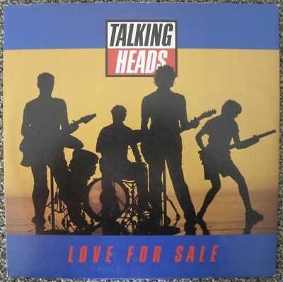 "Talking Heads Love For Sale Hey Now 12"" Nm Sire"