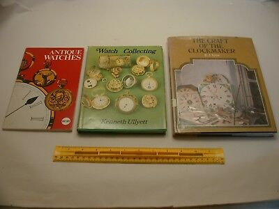 Book 646 – Lot of 3 watch and clock books