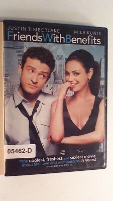 DVD Movie FRIENDS WITH BENEFITS Justin Timberlake Mila Kunis in Original Jacket
