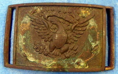 Us Civil War Model 1851 Buckle & Catch Ground Dug In Fredericksbur, Va Area