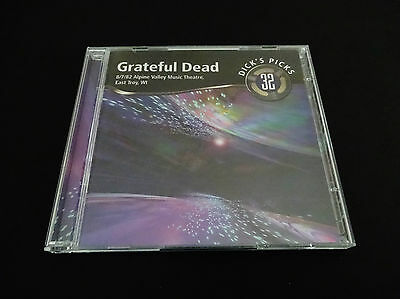 Grateful Dead Dick's Picks 32 Volume Thirty Two Alpine Valley 8/7/1982 2 CD 1st