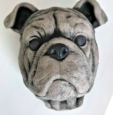 Latex Mould for making Pug wall feature