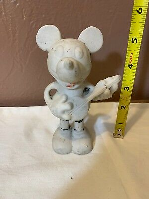 Vintage Bisque Mickey Mouse Made In Japan Walt Disney