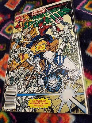 The Amazing Spider-Man #360 (Mar 1992, Marvel) 1st Carnage cameo !