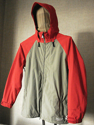 Volcom Nylon Waterproof Shell Hooded Padded Lined Industrial Snow Jacket Men's M