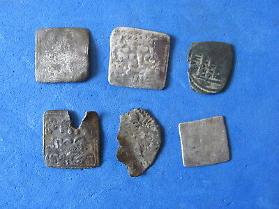 RARE Lot 6 silver Durham Islamic/Spain. Al-Andalus mint XII - XIII cent. A.D.