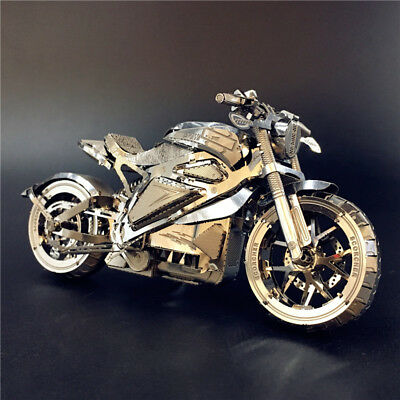 Avenger Motorcycle - Motorbike Metal Model kit 3D Puzzle